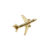 AIRBUS A321 PIN GOLD